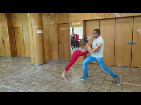 Carlos and Fernanda Zouk Demo in Budapest - All Stars Festival