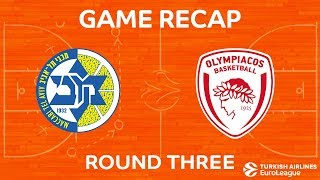Highlights: Maccabi FOX Tel Aviv - Olympiacos Piraeus