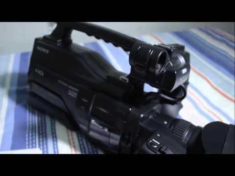 Filmadora Sony Hxr Mc2000 Full Hd Profissional