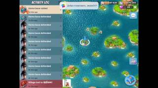 Boom Beach — JessieZX7 destroying  咖啡&MC, 1st world global leaderboard player; warriors & heavies
