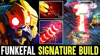 Funkefal Lightning Fast Tinker Back To Signature Build - Crazy Fap Hands Dota 2