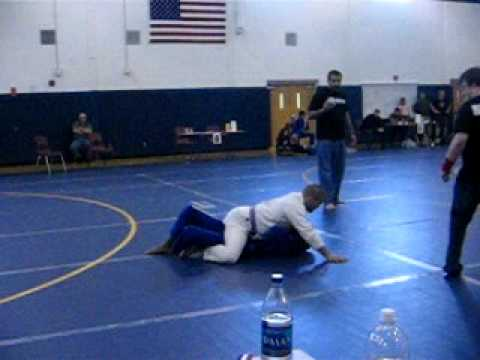 MattG first match at US Grappling Submission Only cross choke from mount Image 1