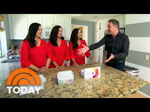 Are Home DNA Kits Really Accurate? Jeff Rossen Investigates With Identical Triplet Sisters | TODAY