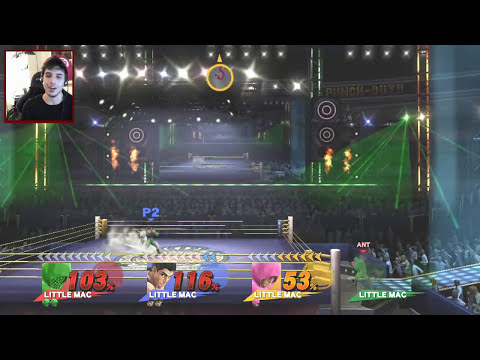 Little Mac vs Little Mac vs Little Mac vs Little Mac! (Super Smash Brothers: The Derp Crew - Game 6)