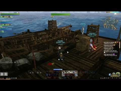 Archeage KR - Guilda Death Law: Evento Speed Boat.