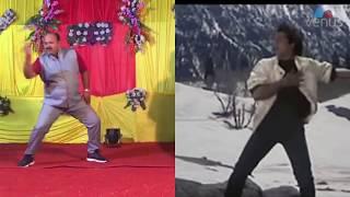 Dancing Uncle Vs Govinda ||  डब्बू अंकल के आगे तो फिल्म स्टार भी फेल हैं