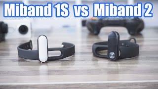 Xiaomi Miband 2 vs Miband 1S