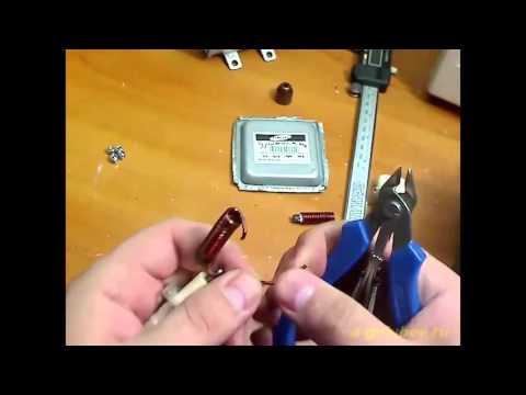 Ремонт магнетрона - YouTube