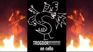 TROGDOR THE BURNINATOR on cello (cover) - The Doubleclicks