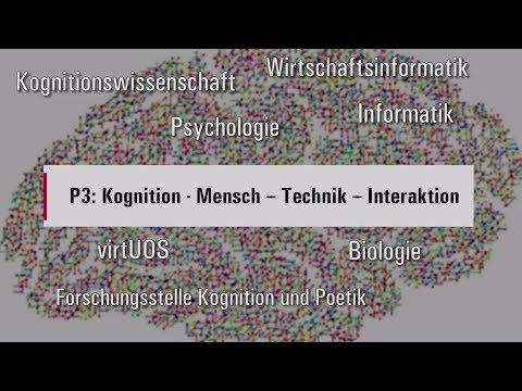 Universität Osnabrück Profillinie 3 Kognition: Mensch - Technik - Interaktion