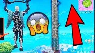 WORLD'S TALLEST TOWER ENDING IN FORTNITE!!!