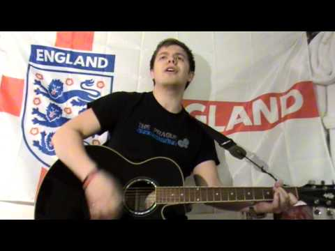 Three Lions &#039;98 - The Lightning Seeds, Baddiel &amp; Skinner (Ollie Bryan acoustic cover)