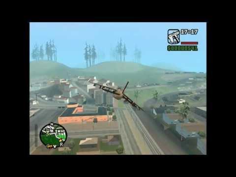 GTA San Andreas - Hydra-Kampfjet Fun