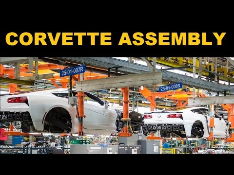 Corvette Factory Tour Corvette C7 Build Youtube