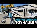 2020 Thor Outlaw 29S TOYHAULER with Side Garage