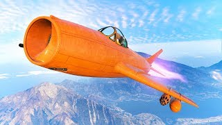 WORLD'S FASTEST JET EVER MADE! (GTA 5 DLC)