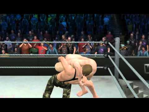 WWE SmackDown vs. RAW 2011 Naked Snake vs ... naked Raiden?