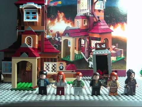 Burrow Harry Potter Lego Lego Harry Potter The Burrow