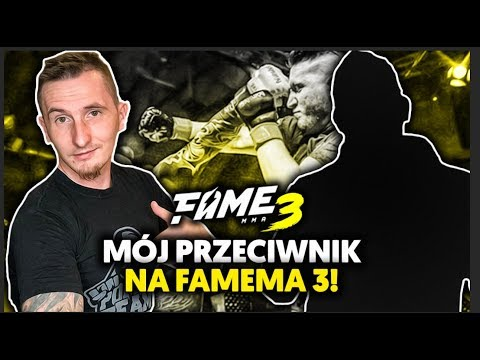 Mój przeciwnik na FAME MMA 3...   IsAmU