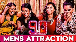 What Attracts Men To Women ? : 90ML Girls Reveals | Oviya | 90ML | Interview