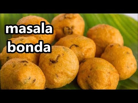 Masala bonda | Aloo bonda recipe | How to make potato bonda | South Indian street food