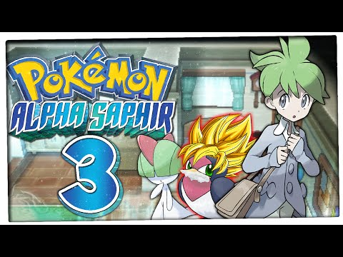 Let's Play PokÉmon Alpha Saphir Part 3: Heiko, Vater Norman & Tollwut-schwalbini! video