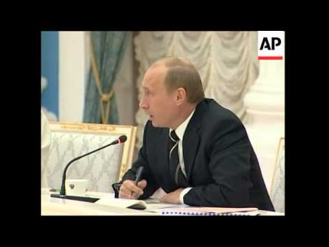 Putin comment on human rights and Guantanamo