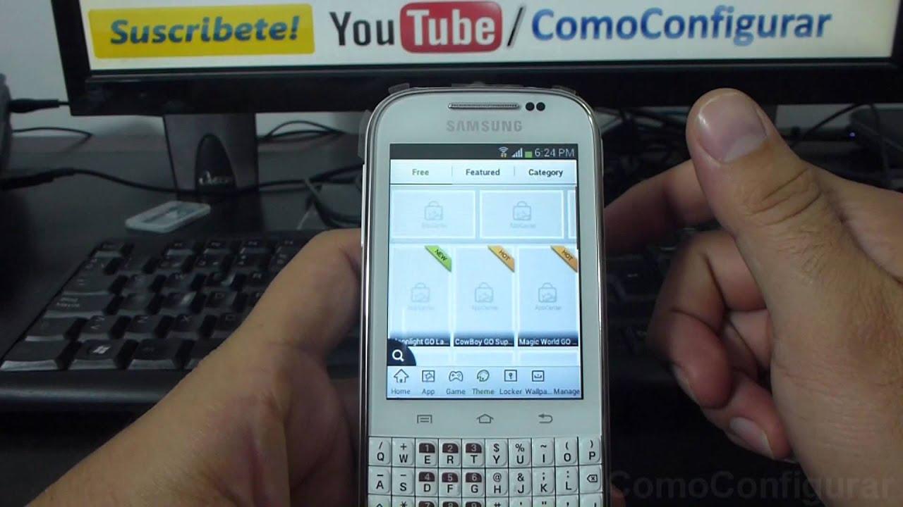 Del Samsung Galaxy Chat
