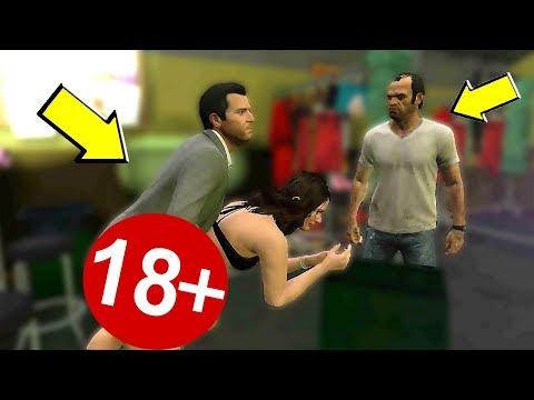 ЧТО СЛУЧИТСЯ ЕСЛИ ВЫ ПОСЛЕДУЕТЕ ЗА МАЙКЛОМ В GTA 5 ?