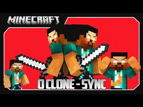 Minecraft: SYNC MACHINE MOD (CLONES, TELEPORTES, NUNCA MORRA!!) MOD SHOWCASE!!