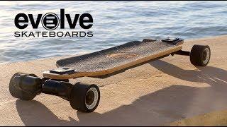 Evolve Bamboo GTX!   High Powered Electric Skateboard