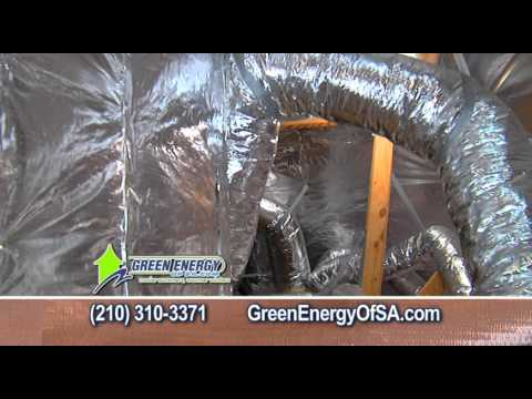 Green Energy of San Antonio Winter 2013 Radiant Barrier Commercial