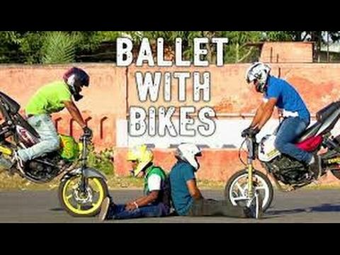 आपने कभी सपने में भी नहीं देखें होंगे ऐसे Bike Stunt एक बार वीडियो जरूर देखें