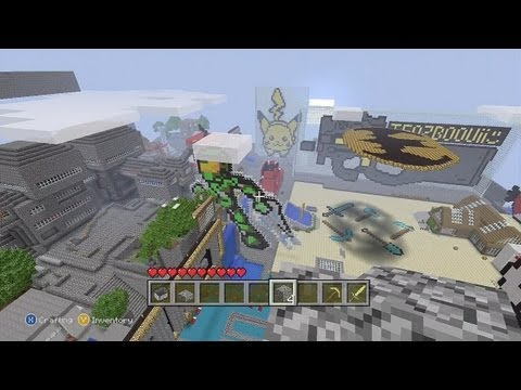 The Best Minecraft Xbox 360 Edition World Ever! Te0z Community World
