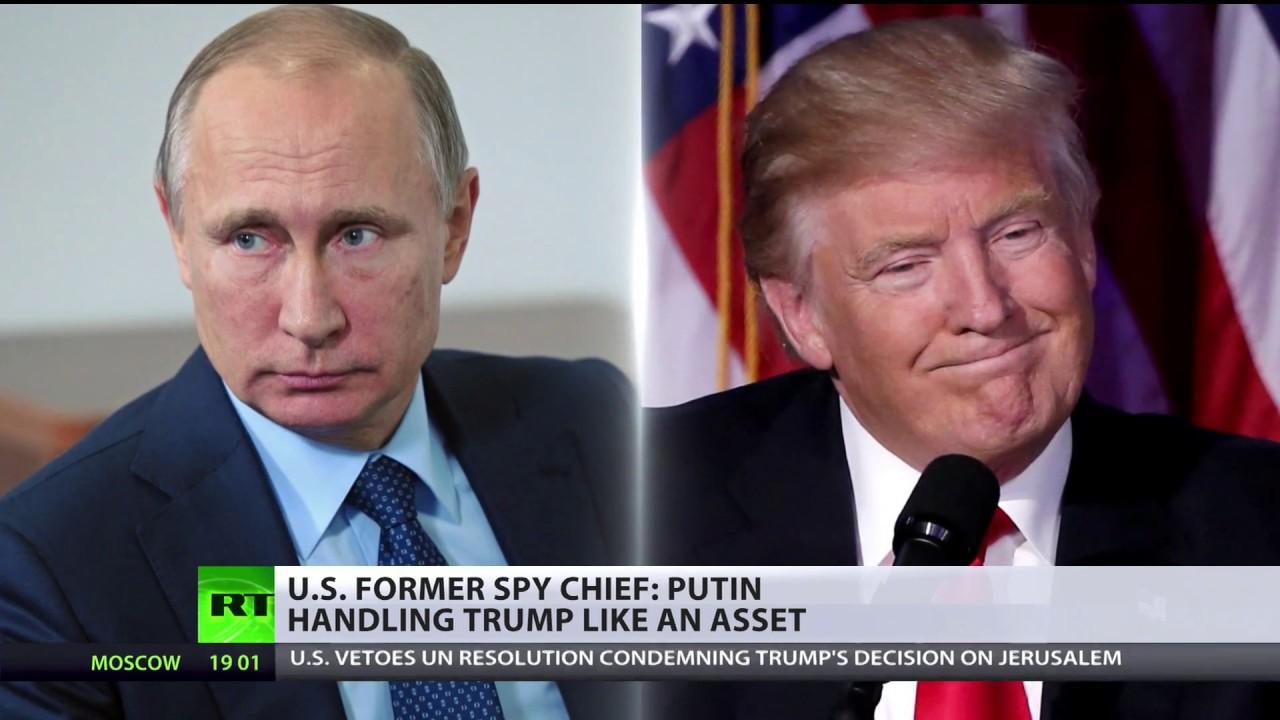 Putin handling Trump like an asset – US former spy chief