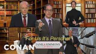 Introducing: Jank & Simmons Law Firm - CONAN on TBS