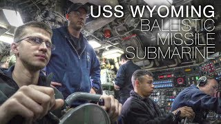 Life Aboard US Navy Ballistic Missile Submarine USS Wyoming – In Stunning 4K