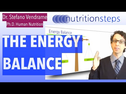 Nutrition Steps 3.1 - The Energy Balance