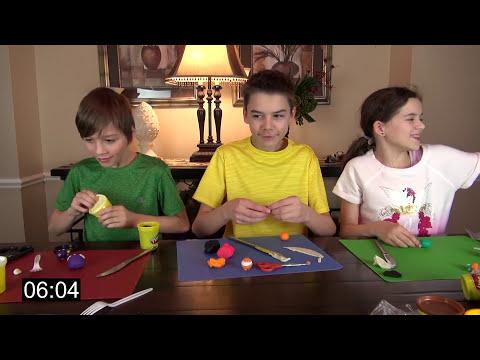 PLAY DOH MOSHI MONSTER CHALLENGE!  |  BLIND BAG OPENING!  |  KITTIESMAMA