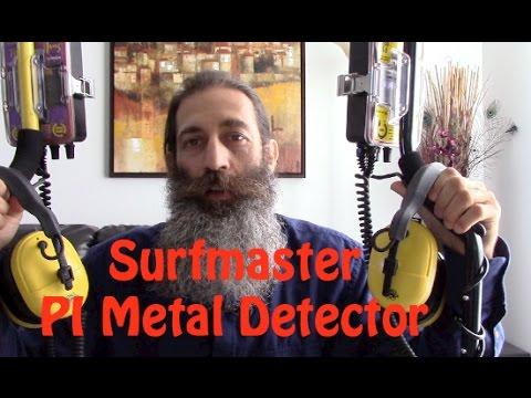 Surfmaster PI Metal Detector vs. Surfmaster PI Pro Metal Detector