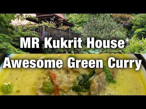 MR Kukrit Heritage House & Awesome Green Curry (Bangkok Vlog 2)