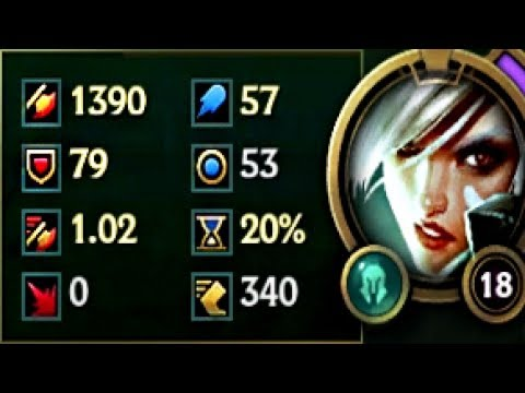 1300+ AD HOW MUCH AD RIVEN  CAN POSSIBLY GET ALONE & Riven Best Moments!