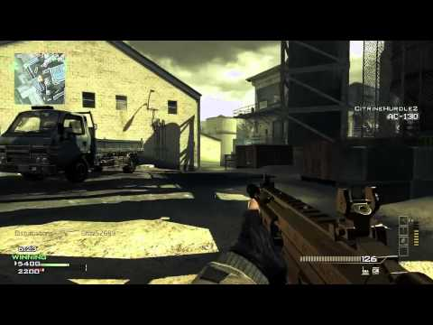 Modern Warfare 3 DLC Map Pack #4 TDM on Foundation w/ Gold ACR (Live Commentary/Gameplay)