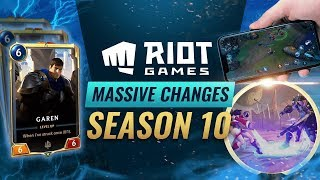 HUGE UPDATE: NEW CHAMPION + 7 NEW GAMES FROM RIOT GAMES - League of Legends Season 10