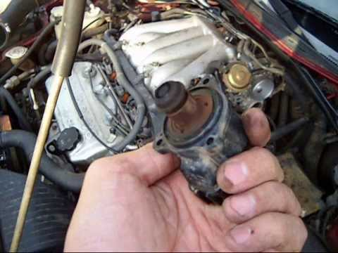 2001 Mitsubishi Eclipse GT Throttle body, IAC valve,MAF sensor cleaning