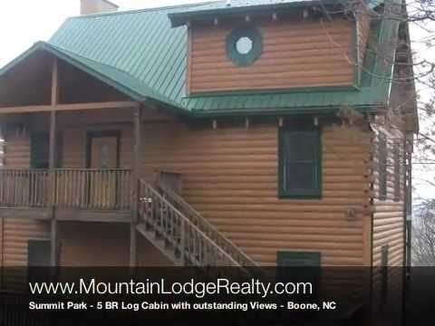 Mountain Lodge Realty - Summit Park Log Home 5 BR