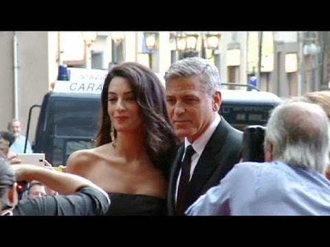 Security tight in Venice for George Clooney wedding