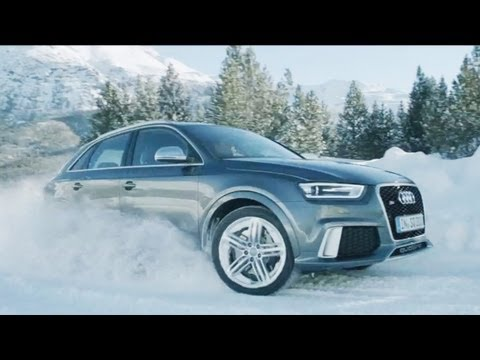 ► Audi RS Q3 - SNOW TEST