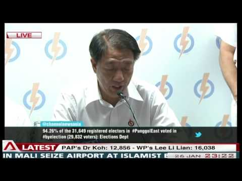PAP's Press Conference After Punggol East SMC By-Election - 26Jan2013