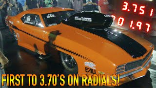 STEVIE FAST 3.75 ON RADIALS - FIRST TO THE 3.70's!